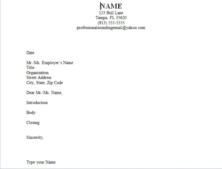 image - How To Make The Perfect Cover Letter